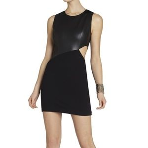 BCBG Max Azria, Black cutout Dress, Size S